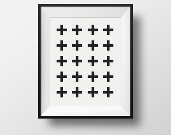 swiss cross, black swiss cross, swiss cross print, swiss cross poster, swiss cross black, scandinavian cross