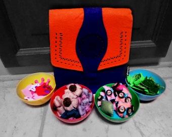 HandBag Felt DIY Embellishment Kits Gift Set