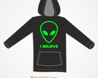 Sweatshirt ALIEN - I Believe