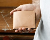 Kangaroo Leather Wallet Classic, Australian, Natural, Hand Stitched, Billfold Wallet, Leather Wallet, Mens Wallet, Men's Wallet