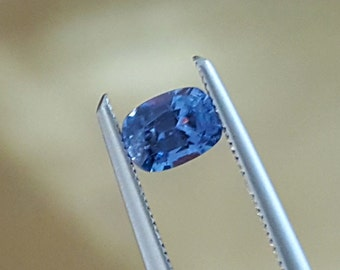 Reserved.....0.41 Carat Cobalt Blue Spinel Cushion from Vietnam.