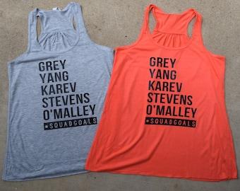 Grey's Anatomy squad goals tank
