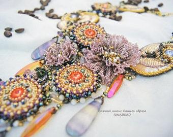 """necklace """"Summer in Rio"""""""