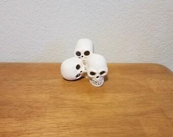 Ceramic Bunch of Skulls (#761)