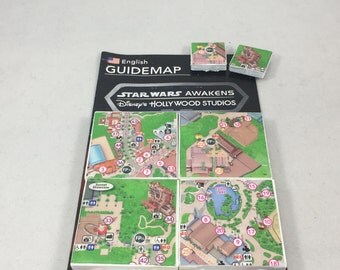 Hollywood Studios Ceramic Tile Magnet Set - Walt Disney World