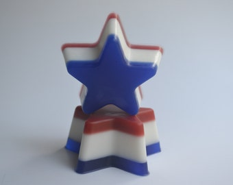 PATRIOTIC  STAR Soap