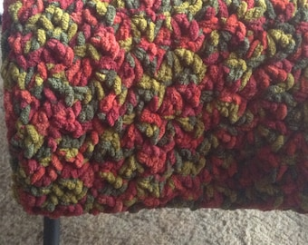 Red/Green throw