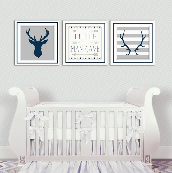 Baby Boy Rooms Baby Room Decor: Baby Boy Nursery Decor Antlers Deer Head Arrows Little