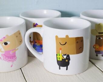 Capybara Childrens Mug
