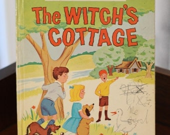 The Witch's Cottage - 1950s children's book