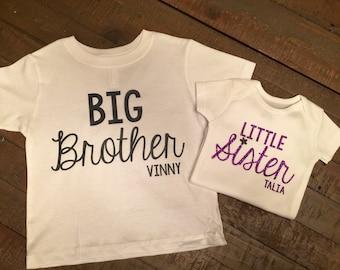 Brother sister shirt set