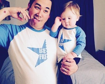 Best friend star father son shirt combination