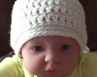 New born baby beanie or for dolly