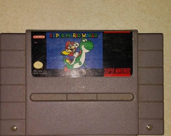 Super Mario World for Super Nintendo Snes