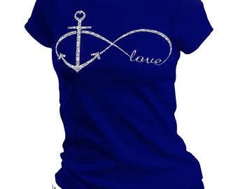 Anchor Infinity Love Tee