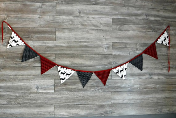 Garland Fabric, Fabric Banner Bunting, Pennant Flags wedding, smash the cake, birthday, nursery decor, photo prop, shower