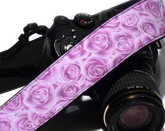 Roses Camera Strap. Canon Nikon Camera Strap. Photo Camera Accessories