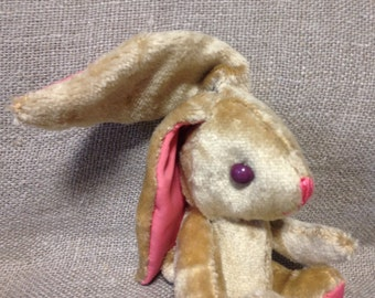 Small soft bunny rabit handmade toy