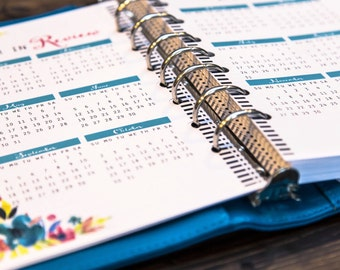 "2016 Planner - 2016 Daily Planner - Planner - 2016 Agenda - Daily Planner - 2016 Planner Printable - 5.5""x8.5"" Planner - Planner Printable"
