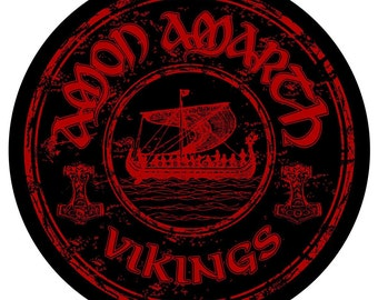 AMON AMARTH Back Patch Sew On OFFICIAL Vikings