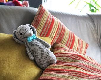 Crochet amigurumi Toy Elephant based on Little Bear Crochets pattern - Crochet animals