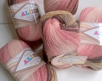 Superlana  Alize  Klasik Batik  100 grammi
