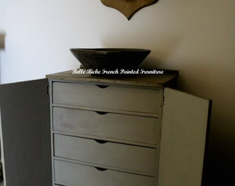 FOR SALE Gustavian Style Tallboy - Ideal Linen Press