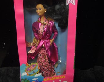 Mattel Malaysian Special Edition Barbie Doll
