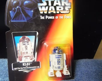 Star Wars Power of the Force R2D2 1990's Kenner