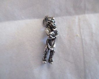 Disney Pinocchio Geppetto Charm Sterling Silver