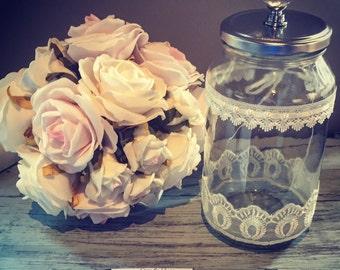 Wedding Guest Book Alternative - Message Keepsake Jar
