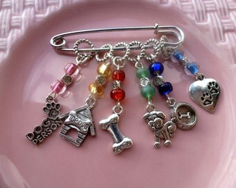 Dog Lover Stitch Markers