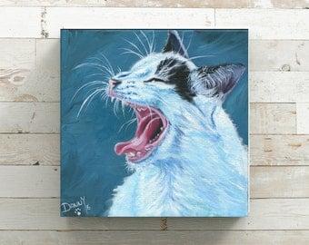 Cat Wall Art cat wall decor | etsy