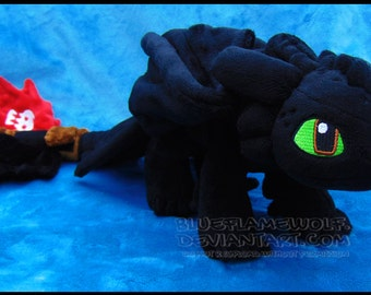 Custom Toothless plush (Made to Order)