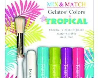 FaberCastell Gelatos Mix & Match Set - Tropical