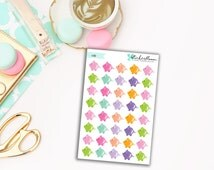 Sale 50% off Piggy Bank Savings Planner Stickers [I012]