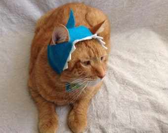 Shark Hat For Cats