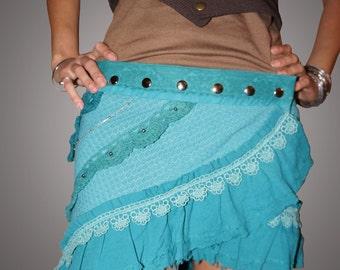 Nymph Skirt - Emerald green