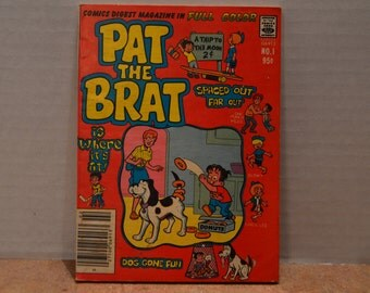 Pat the Brat Comic Digest Magazine Number 1