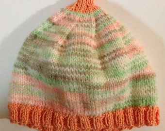 Baby Hat, knitted - Newborn