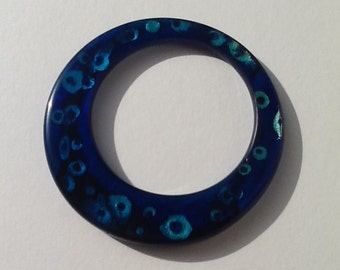 The Jasmine bangle - Electric Blue
