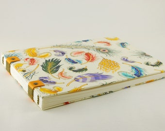 Watercolor book, sketchbook, Coptic binding, 20cmX15cm, 56 pages, carnettiste, drawing, sketch book