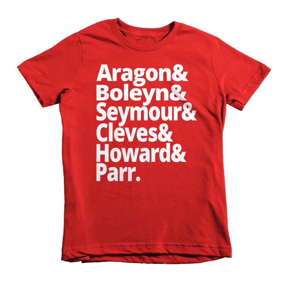 Wives of Henry VIII - Kids History T-shirt