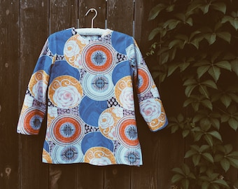 Vintage 70s Feel the Funk Tunic - Size M