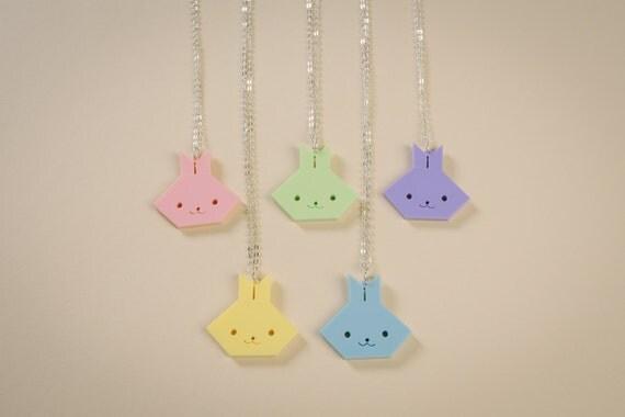 Sale Acrylic Origami Bunny