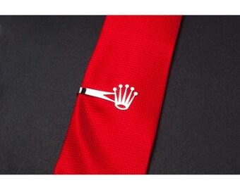 Crown stainless steel, money clip, tie clip