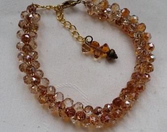 modular bead beautiful bracelet swarovski