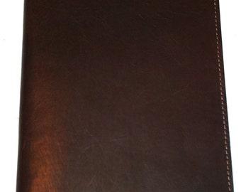 Personalized Genuine Latigo Leather Jr Legal Padfolio Portfolio - Perfect for Executives and Business Professionals, Refillable Notepad