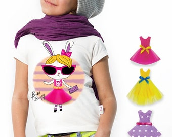T-shirt for girls Top Bunny