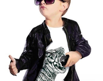 T-shirt for boys Wild Tiger